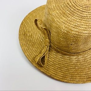 Betmar Natural Braided Straw Sun Hat OS